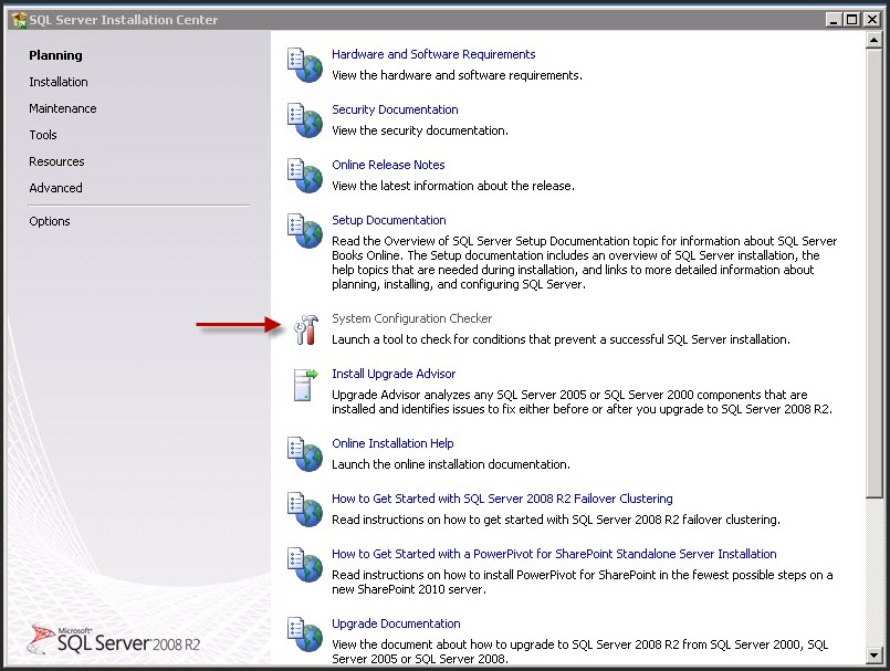 SQL Server 2014 Express with Tool のインストー …
